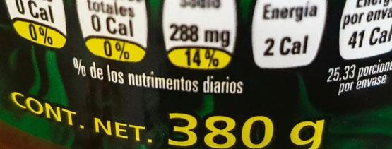 actualización del etiquetado frontal Mexico