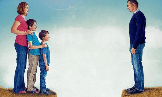 regulación del abandono de familia